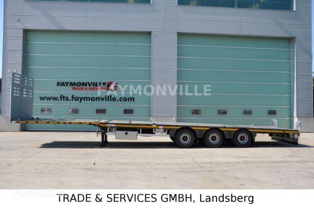 nieuw FAYMONVILLE Plateauauflieger MAX200-N-3A-13.60-19.5-2.54 dieplader oplegger