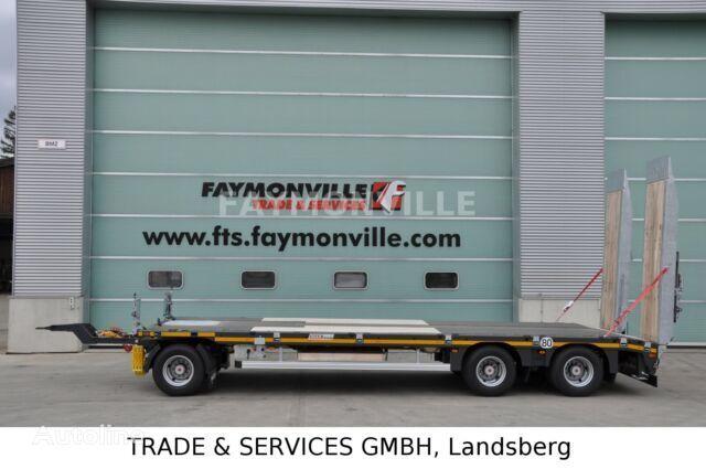 nieuw FAYMONVILLE Tieflader mit geradem Plateau MAX600-S-3-8.00-U dieplader oplegger